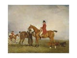 George  5th Duke of Gordon on 'Tiny'  1806-7