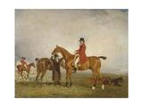 George  5th Duke of Gordon on 'Tiny'  1806-7