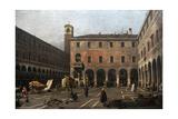 The Campo Di Rialto  1758-1763