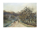 Orchard Near D'Osny  Pontoise  1874