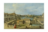 A View of Dolo on the Brenta Canal  C1725-29