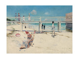 A Holiday at Mentone  1888
