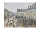 Place Du Théâtre Français  Paris: Rain  1898
