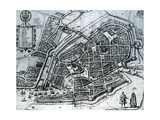 Map of Hamburg  from 'Cities of the World'