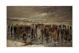 Curling at Carsebreck  1899