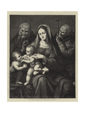 The Holy Family  by Leonardo Da Vinci