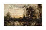 Evening at Bas Meudon  1874