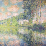 Poplars on the Epte  C1891