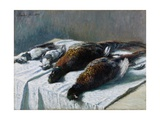 Still Life with Pheasants and Plovers  1879