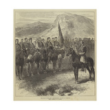 The War in the East  Montenegrin Cavalry at Cettigne
