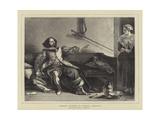 Charles Dickens as Captain Bobadill