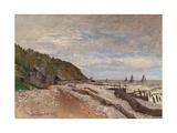 Boatyard Near Honfleur; Le Chantier De Petits Navires  Pres De Honfleur  1864