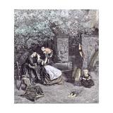 Happy Days in the Garden  1860