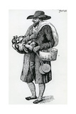 Jewish Hawker of Hamburg  Eighteenth Century