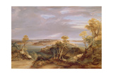 Sydney and Botany Bay from the North Shore  1840