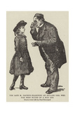 The Late M Pasteur Examining an English Girl Who Had Been Bitten by a Mad Dog