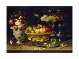 Still Life of Fruit and Flowers  1608 - 1621
