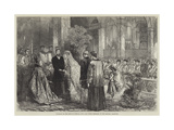 Marriage of the Duke of Norfolk with Lady Flora Hastings  at the Oratory  Brompton