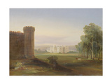 Government House and Stables  Sydney  1841