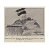 Councillor Bard Reading His Report on the Dreyfus Affair to the Cour De Cassation