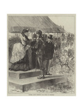 Princess Louise Presenting the Prizes at Wimbledon