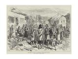 The Austrian Occupation of Herzegovina  Street Scene in Grahovo