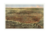 The City of St Louis  Circa 1874