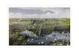 The City of Baltimore  Circa 1880  USA  America
