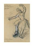 Dancer; Danseuse  1880s