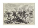 The War in Spain  Attack on the Carlist Position of Santiago Mendi  Near San Sebastian
