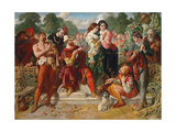 The Wrestling Scene in 'As You Like It'  1854