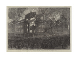 Great Fire in the Central Exchange Buildings  Newcastle-On-Tyne