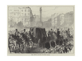 Dublin Obsequies of Lord Mayo  the Funeral Procession