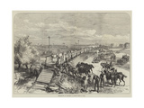 Embarkation of Artillery in Railway Trains in India