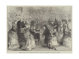 Princess Louise Giving the Prizes of the Royal Society for the Prevention of Cruelty to Animals