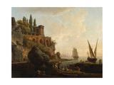Imaginary Landscape  Italian Harbour Scene  1746