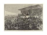 Mr Gladstone Addressing the Meeting on Blackheath