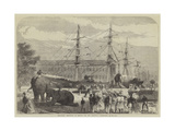 Embarking Elephants at Bombay for the Abyssinian Expedition