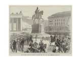 The Military Triumph at Berlin  Unveiling the Statue of King Frederick William Iii