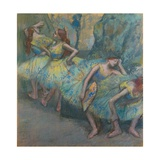 Ballet Dancers in the Wings  C1890-1900