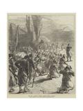 The War in Servia  Evening Prayer after a Battle