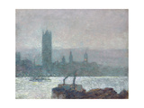 Houses of Parliament  Early Evening  1898