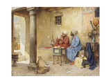 The Scribe  1886 (Panel)