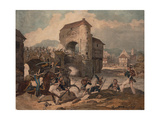 Pursuit of the French at Toulouse  1814
