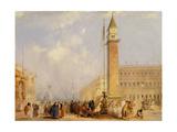 The Piazzetta  Venice