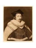 Sir Edward Coke  from 'James I and Vi'  Printed by Manzi Joyant and Co Paris  1904 (Collotype)