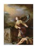 St Margaret of Cortona Vanquishing the Devil