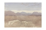 A Mountainous View  North Wales  C1818