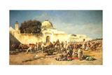Market Scene at Mogador  1881