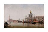 The Dogana Di Mare with San Giorgio Maggiore Beyond  1863